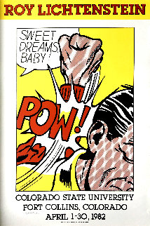 Sweet Dreams, Baby! Poster 1982 HS Limited Edition Print - Roy Lichtenstein
