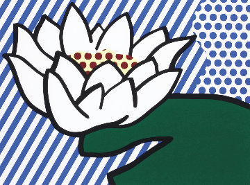Water Lily 1993 Limited Edition Print - Roy Lichtenstein
