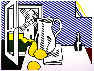 Still Life with Windmill Limited Edition Print - Roy Lichtenstein