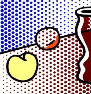 Still Life With Red Jar 1994 Limited Edition Print - Roy Lichtenstein