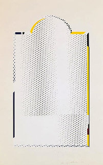 Mirror #7 1972 Limited Edition Print - Roy Lichtenstein