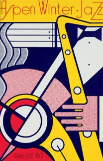 Aspen Jazz Poster 1967 Other - Roy Lichtenstein