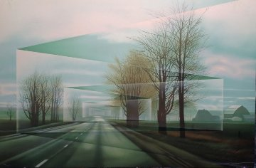 Roads 1987 Limited Edition Print by Frank Licsko