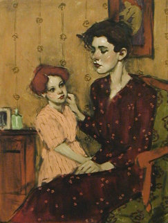 Mothers Touch I 2002 Limited Edition Print - Malcolm Liepke