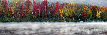 Misty River Panorama by Peter Lik