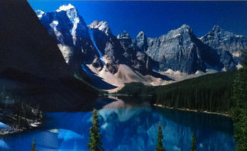 Lake Moraine, Rocky Mountains, Canada 2011 Panorama - Peter Lik