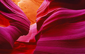 Angel's Heart (Antelope Canyon, Az) Panorama - Peter Lik