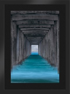 Ocean Window (Scripps Pier La Jolla) Panorama by Peter Lik