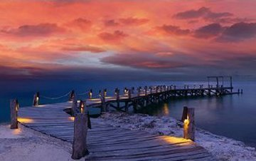 Enchanted Jetty Panorama by Peter Lik