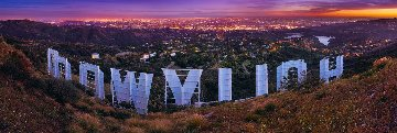 Hollywood Nights Panorama - Peter Lik