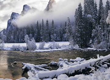 Mystic Valley (Yosemite, California) Panorama by Peter Lik