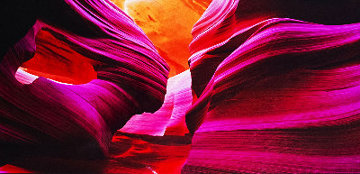 Angel\'s Heart (Antelope Canyon, AZ) Panorama - Peter Lik