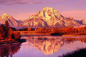 Majestic Morning Panorama - Peter Lik
