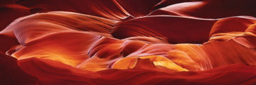 Crimson Tides Panorama - Peter Lik