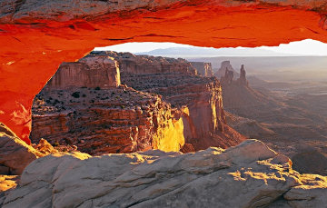 Echoes of Silence (Canyonlands N.P., Utah) Panorama - Peter Lik