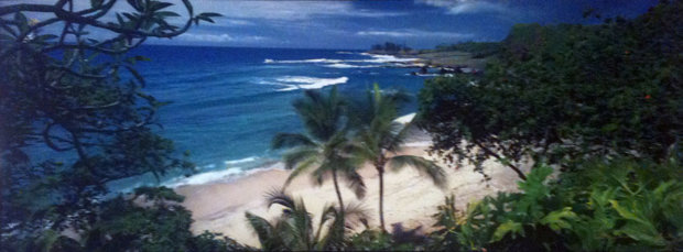 Hamoa Beach, (Maui, Hawaii)  (Small edition 100)