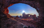 Stone Temple AP Panorama - Peter Lik