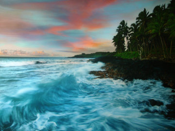 Coastal Palette (The Big Island, Hawaii) Panorama - Peter Lik