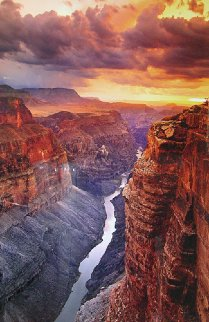 Heaven on Earth AP (Grand Canyon, AZ. NP) Panorama - Peter Lik