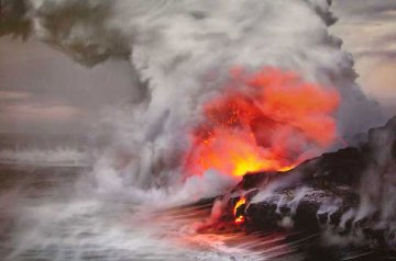 Pele's Whisper (Kilauea, The Big Island Hawaii) Panorama - Peter Lik