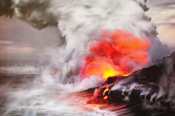 Pele's Whisper 1 Meter (Kilauea, The Big Island Hawaii) Panorama - Peter Lik