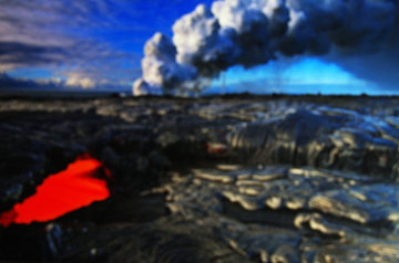 Evolution (Kilauea, The Big Island, Hawaii) Panorama - Peter Lik