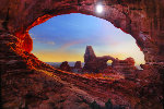 Stone Temple Panorama - Peter Lik