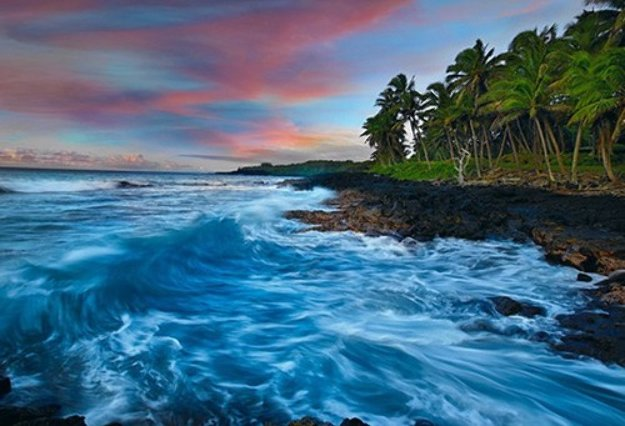Coastal Palette Big Island Hawaii By Peter Lik