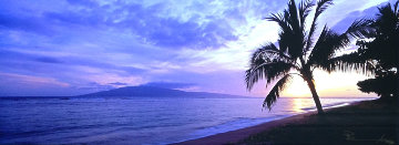 Island Escape (Baby Beach, Maui, Hawaii) Panorama - Peter Lik