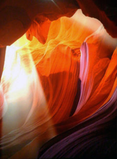 Spiritual Light AP (Antelope Canyon, Arizona) Panorama - Peter Lik