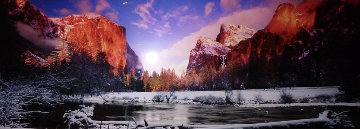 Icy Waters AP (Yosemite NP, California) Panorama - Peter Lik