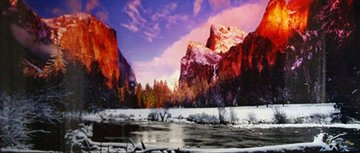 Icy Waters (Yosemite NP, California) Panorama - Peter Lik