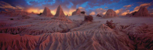 Lunarscape Panorama by Peter Lik