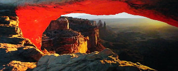 Echoes of Silence (Canyonlands National Park, Utah) Panorama - Peter Lik