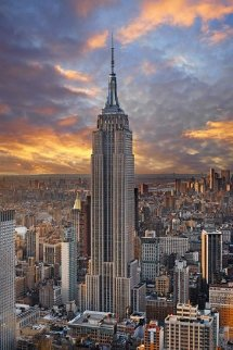 Empire, New York Panorama - Peter Lik