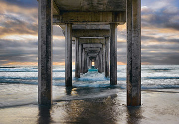 Endless Summer (La Jolla, California)  Panorama by Peter Lik