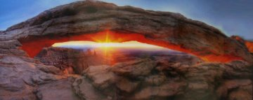 Sacred Sunrise (Canyonlands NP Utah) Panorama - Peter Lik