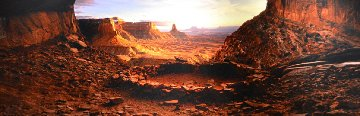 Ancient Spirit (Canyonlands ,NP, Utah) Panorama - Peter Lik