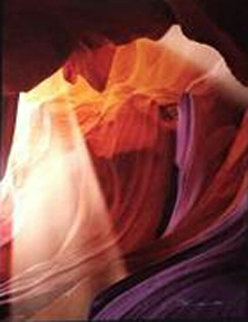 Spiritual Light (Antelope Canyon, Arizona)  Panorama - Peter Lik