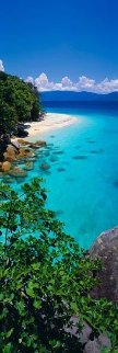 Pure (Fitzroy Island, Queensland) Panorama - Peter Lik