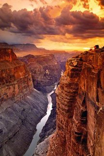 Heaven on Earth AP (Grand Canyon NP, Arizona) Panorama - Peter Lik
