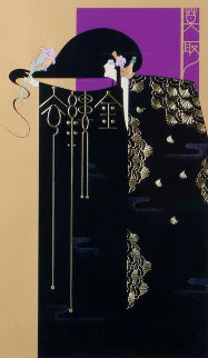 Gold Threaded Robe AP 1988 Limited Edition Print - Lillian Shao