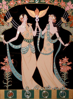 Twin Princesses (Gemini) Limited Edition Print - Lillian Shao