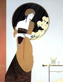 Chrysanthemum Song Limited Edition Print - Lillian Shao