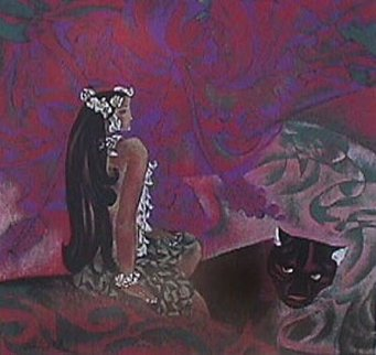 Black Panther 1989 Limited Edition Print - Zhou Ling
