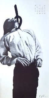 Men in the Cities Lithograph / Poster 1994 Limited Edition Print - Robert Longo