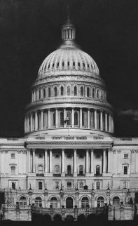 Untitled (Capitol Detail) 2013 Limited Edition Print - Robert Longo