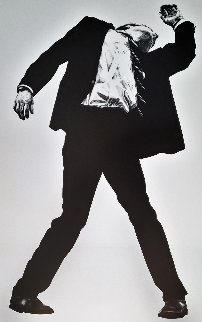 Men in the Cities,  Set of 4 Lithograph Exhibition Posters 1989 Limited Edition Print - Robert Longo
