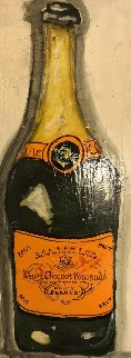 Veuve 2003 24x12 Original Painting - Ashley Longshore