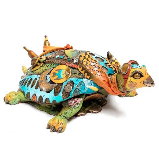 Tracy, the Turtle 2015 8 in Sculpture by Nano Lopez